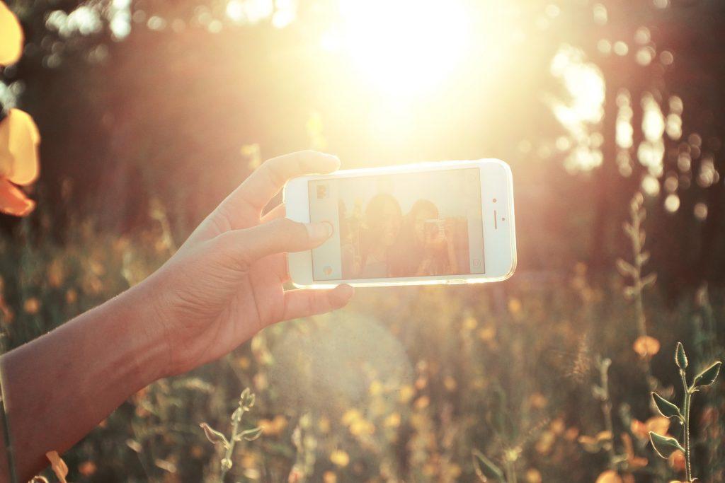 influencer foto
